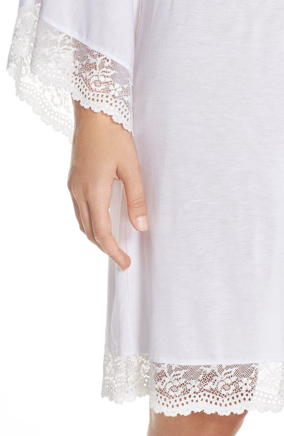 Alternate Image 4  - Eberjey 'Colette' Kimono Robe