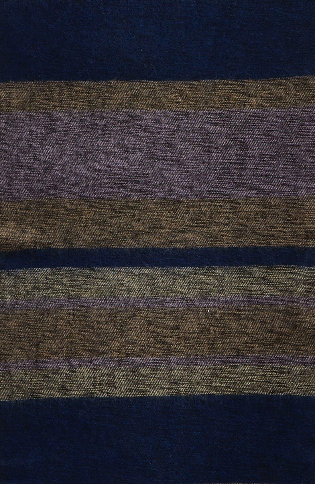 Alternate Image 2  - Echo 'Meadow Stripe' Wrap Scarf