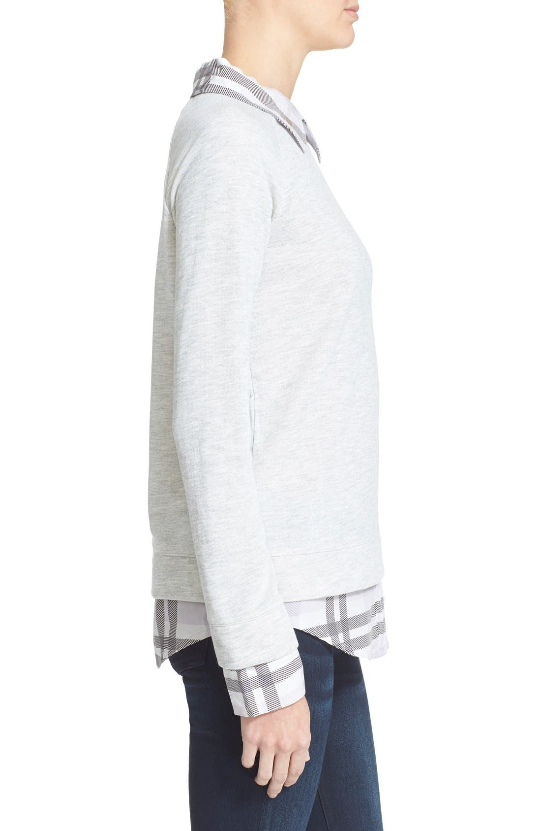 Alternate Image 3  - Soft Joie 'Diadem' Layered Pullover