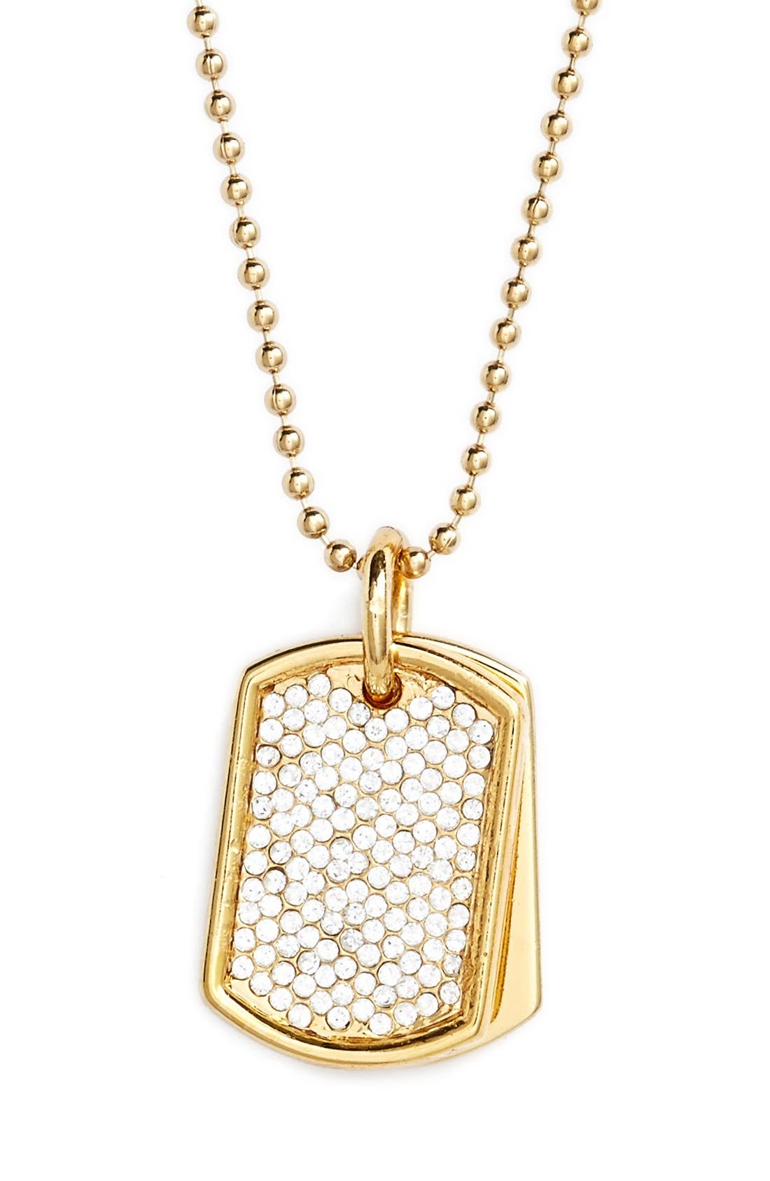 Alternate Image 1 Selected - Stella Valle 'Women Warriors - Faith' Pendant Necklace