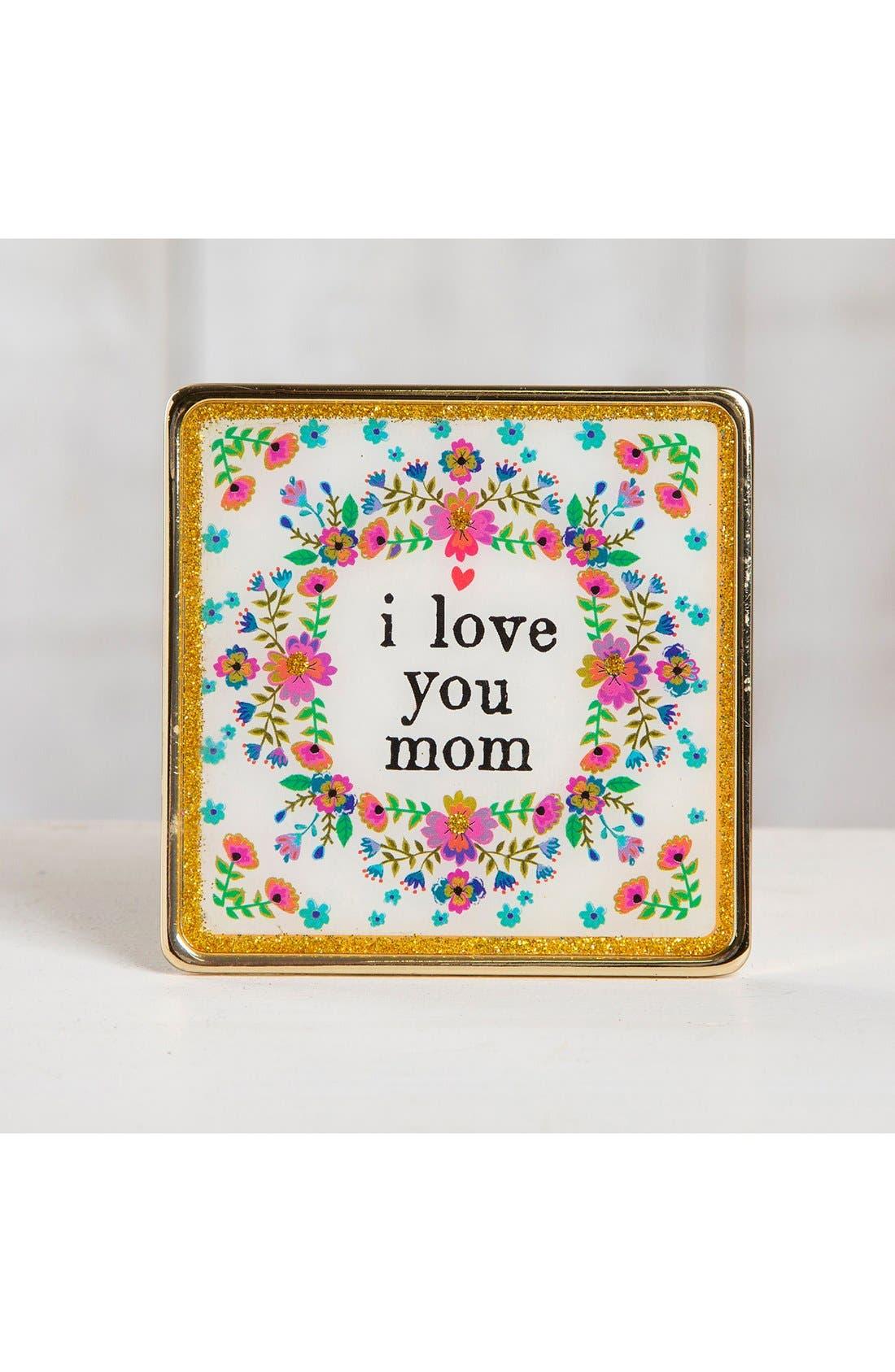 Alternate Image 2  - Natural Life 'I Love You Mom' Framed Art