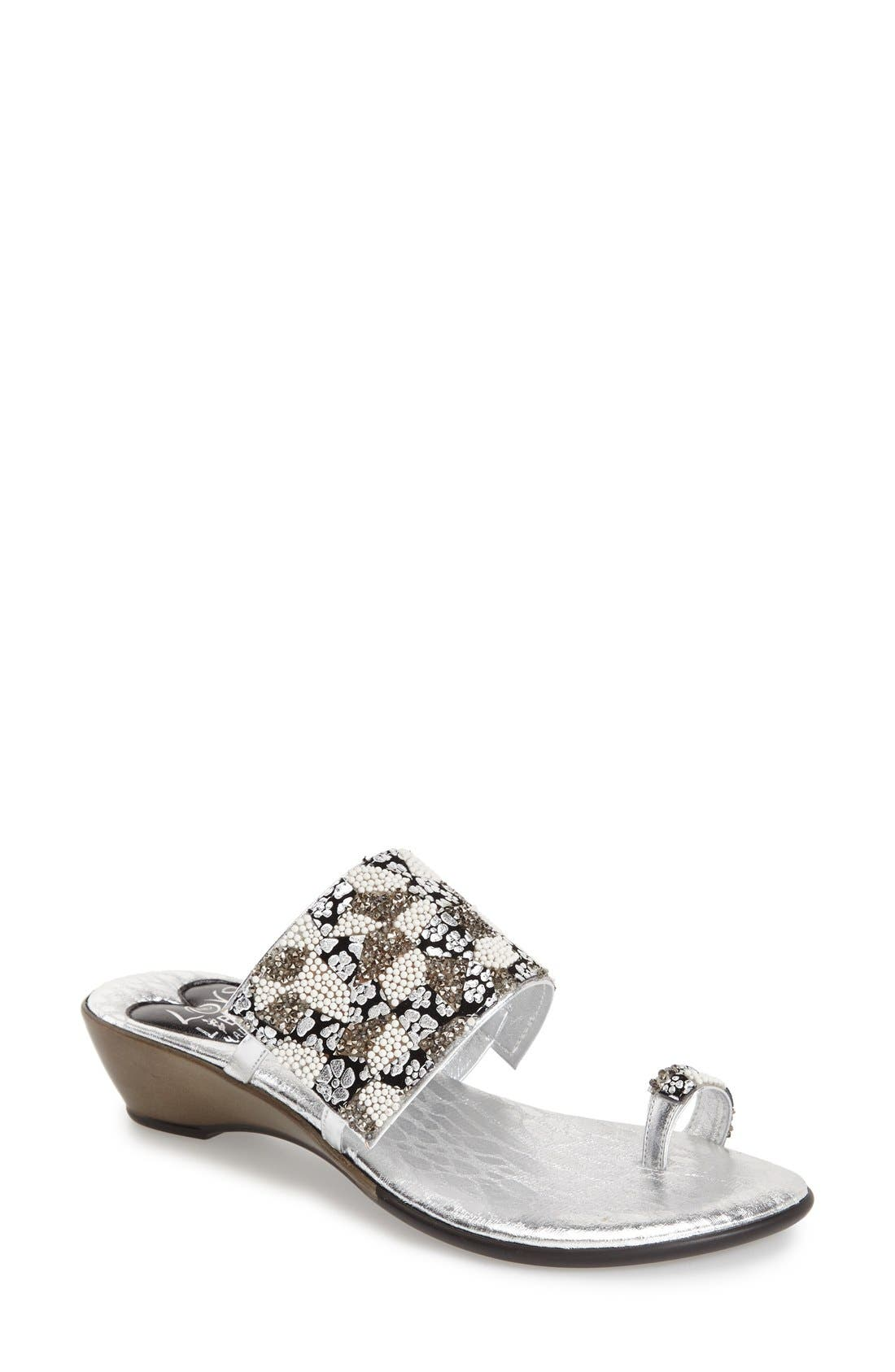 LOVE AND LIBERTY 'Symone' Wedge Sandal