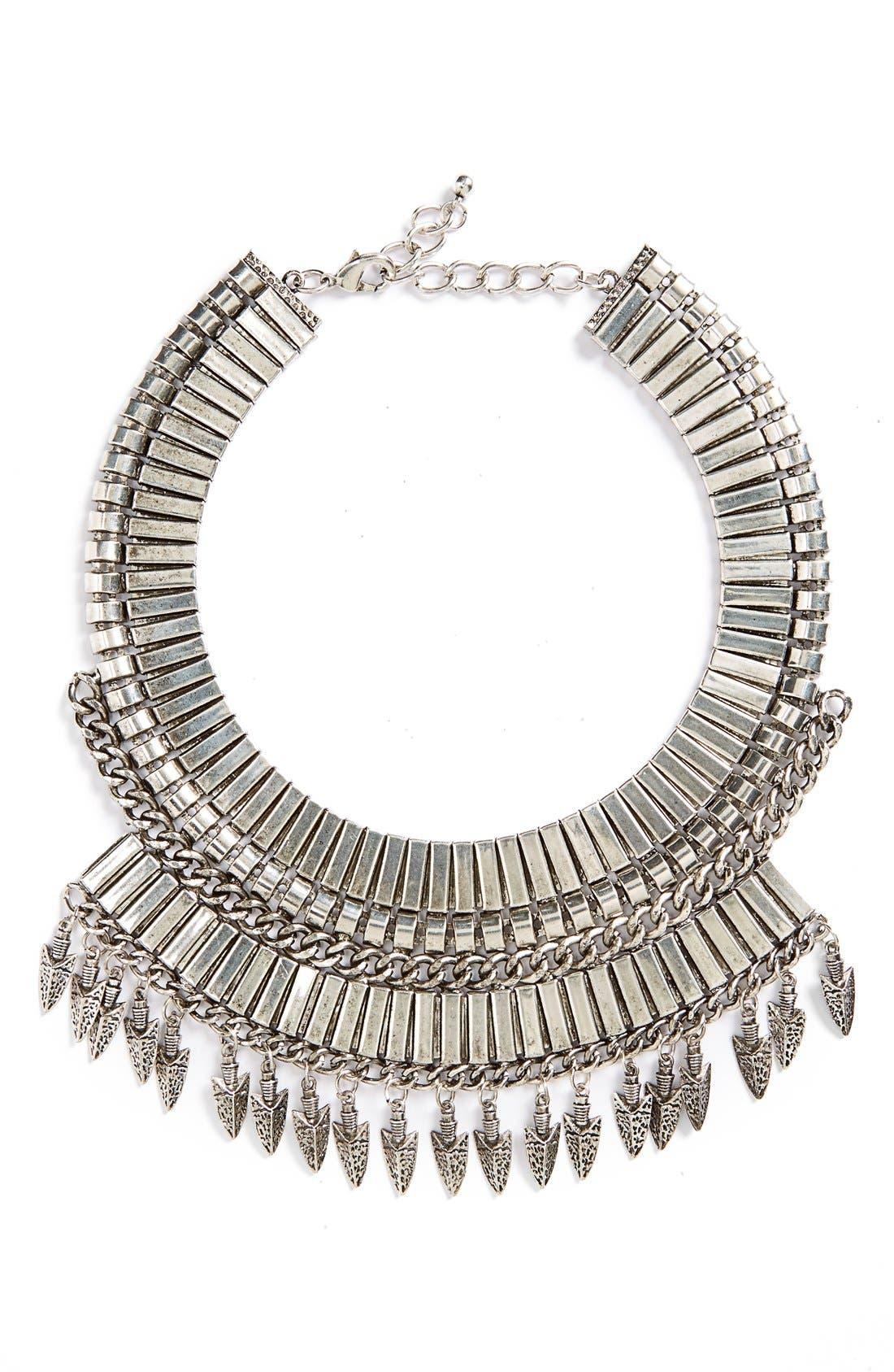 Main Image - Leith 'Armour' Collar Necklace