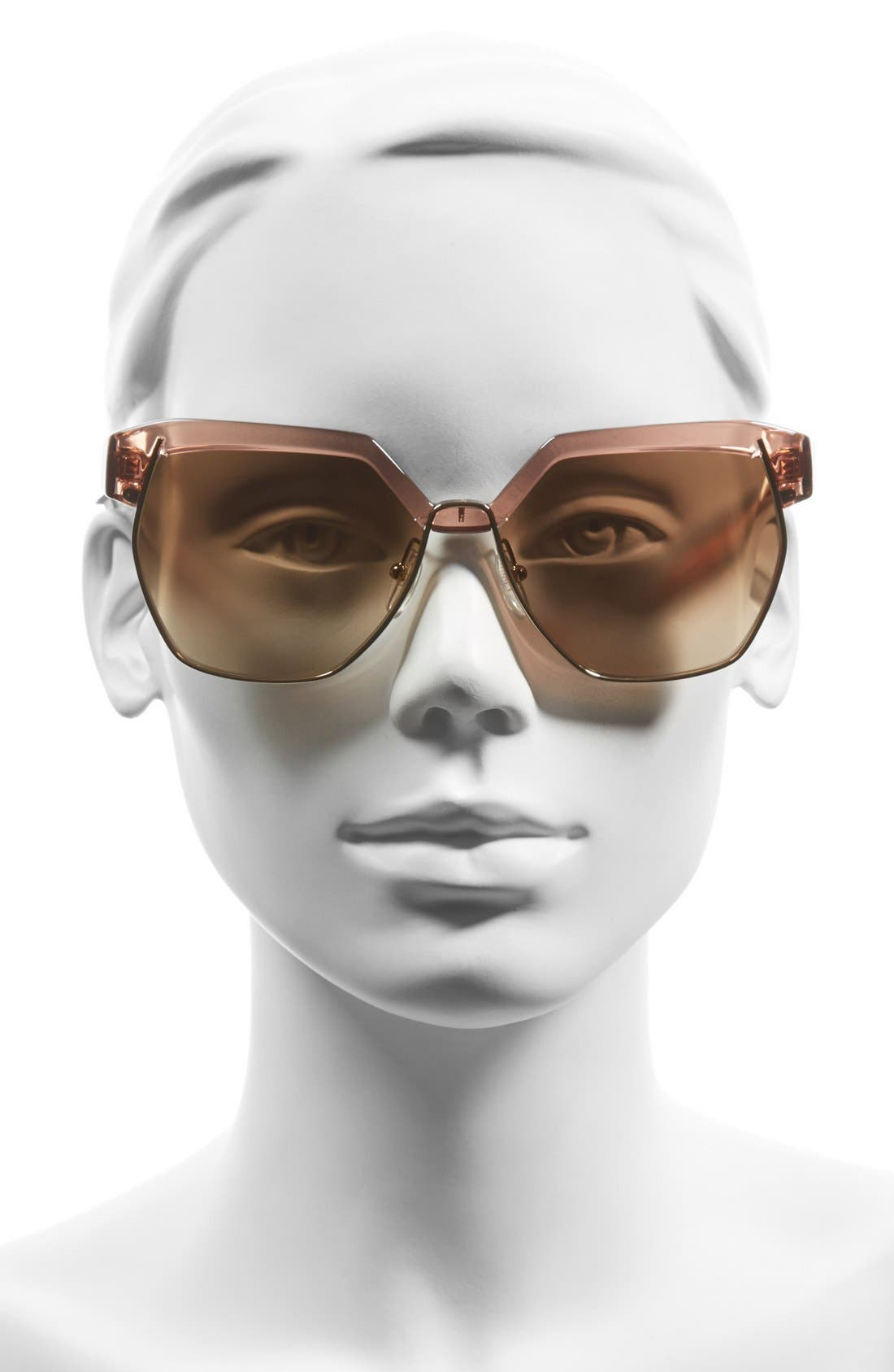 Alternate Image 2  - Chloé 'Dafne ' 60mm Gradient Sunglasses