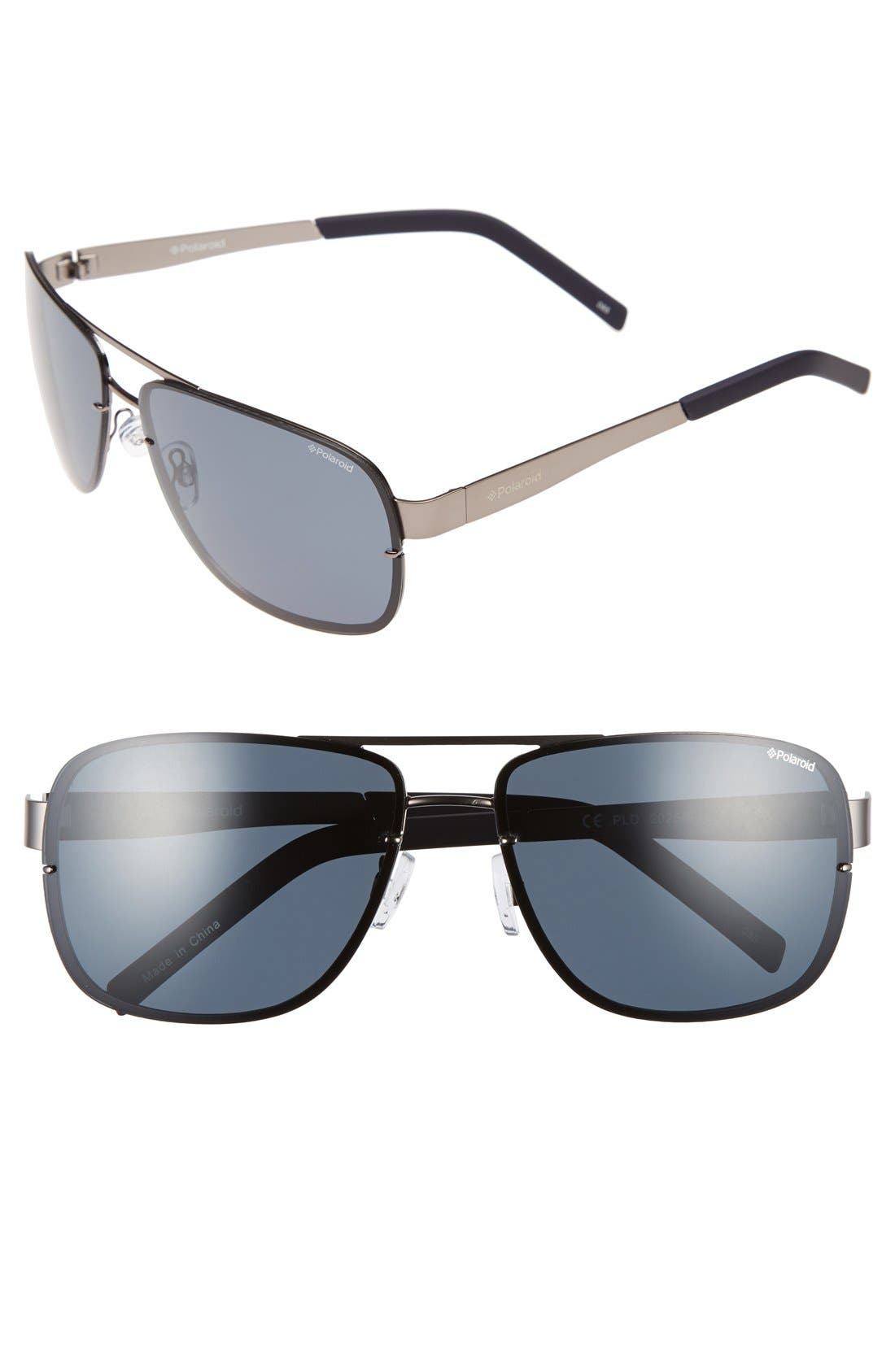 POLAROID EYEWEAR 2025/S 63mm Polarized Sunglasses