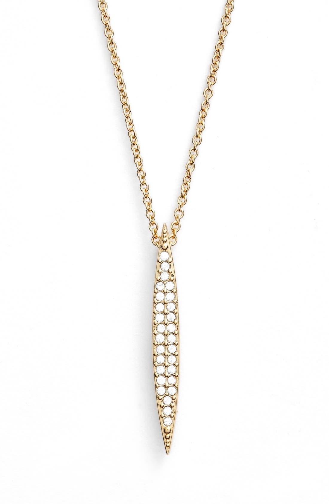 Main Image - Nadri 'Tattoo' Spear Pendant Necklace