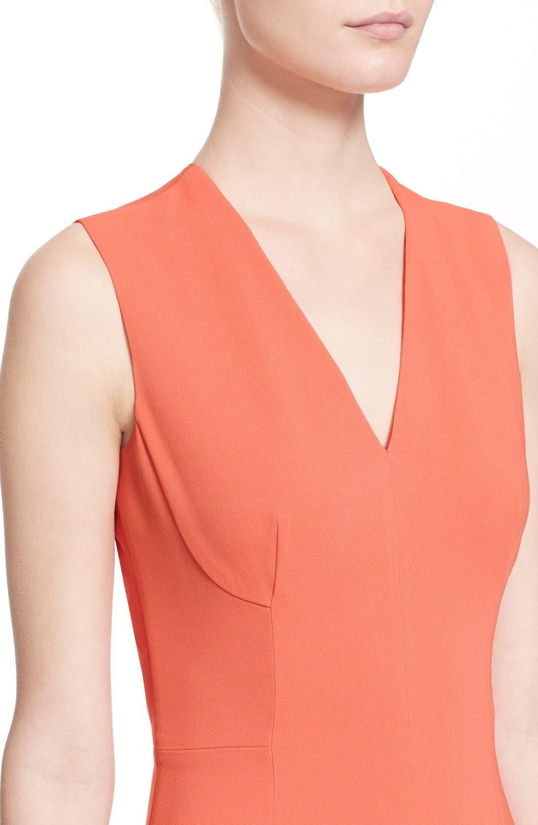 Alternate Image 6  - Stella McCartney 'Simona' Sleeveless V-Neck Dress
