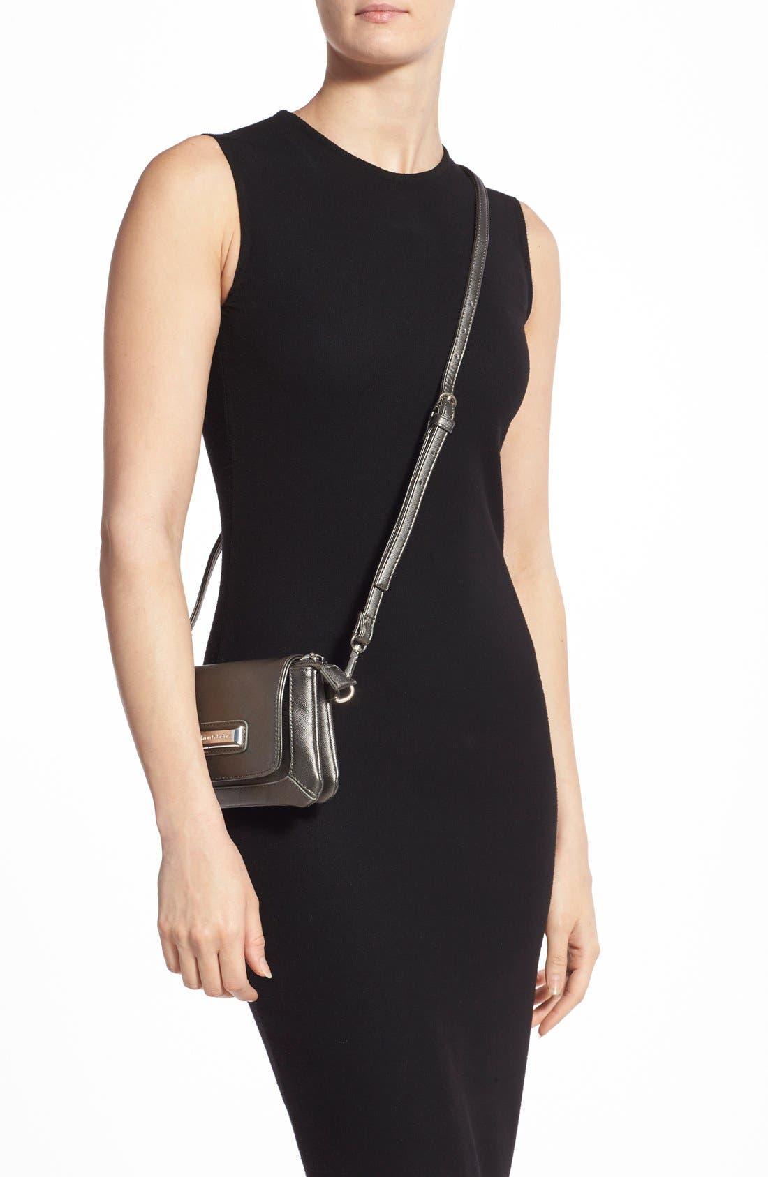 Alternate Image 2  - Catherine Catherine Malandrino 'Mini Clara' Crossbody Bag