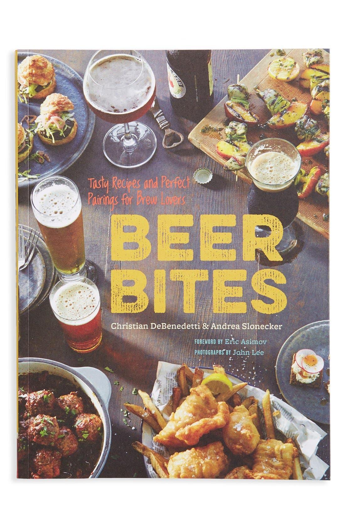 Main Image - 'Beer Bites' Beer & Food Pairing Recipe Book