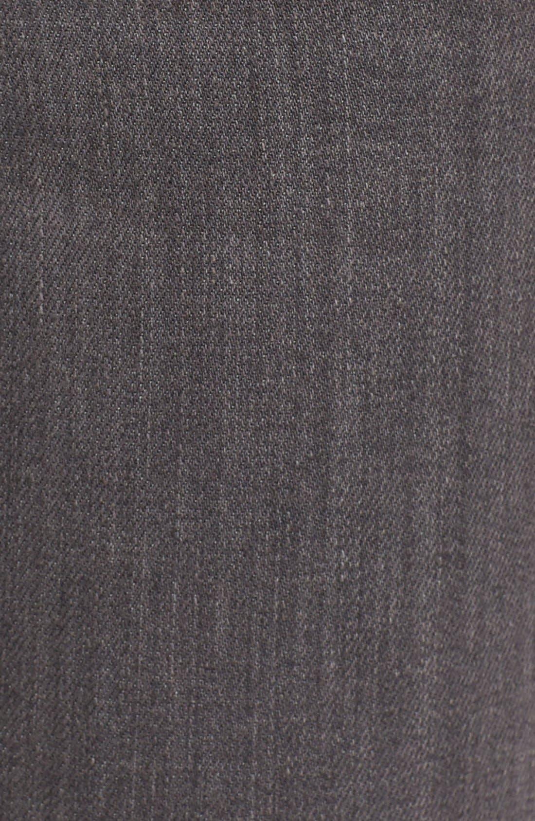 Alternate Image 5  - Rolla's 'Breakers' Distressed Skinny Jeans (Beaten Black)