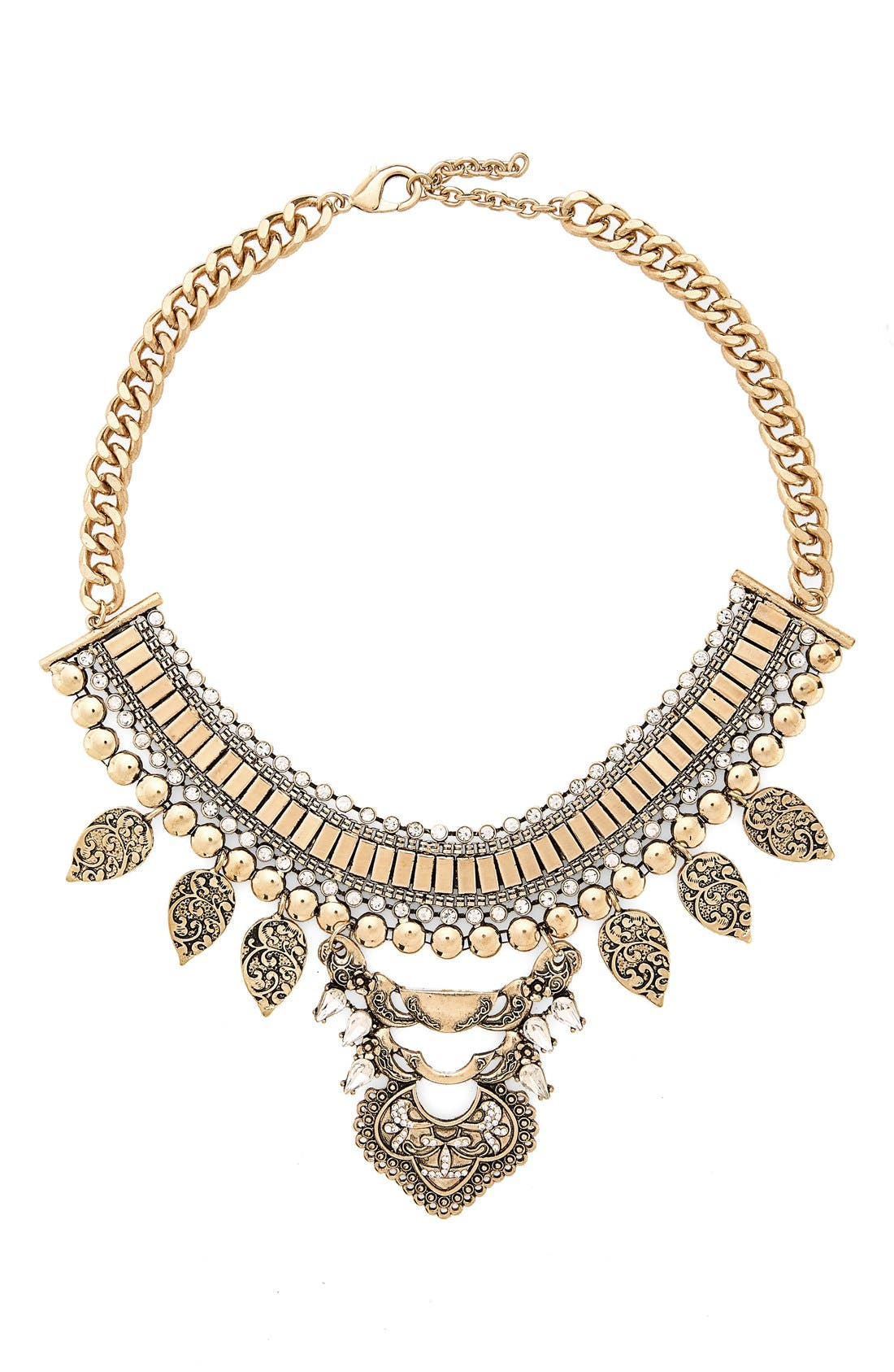 Alternate Image 1 Selected - Leith Metal Statement Necklace