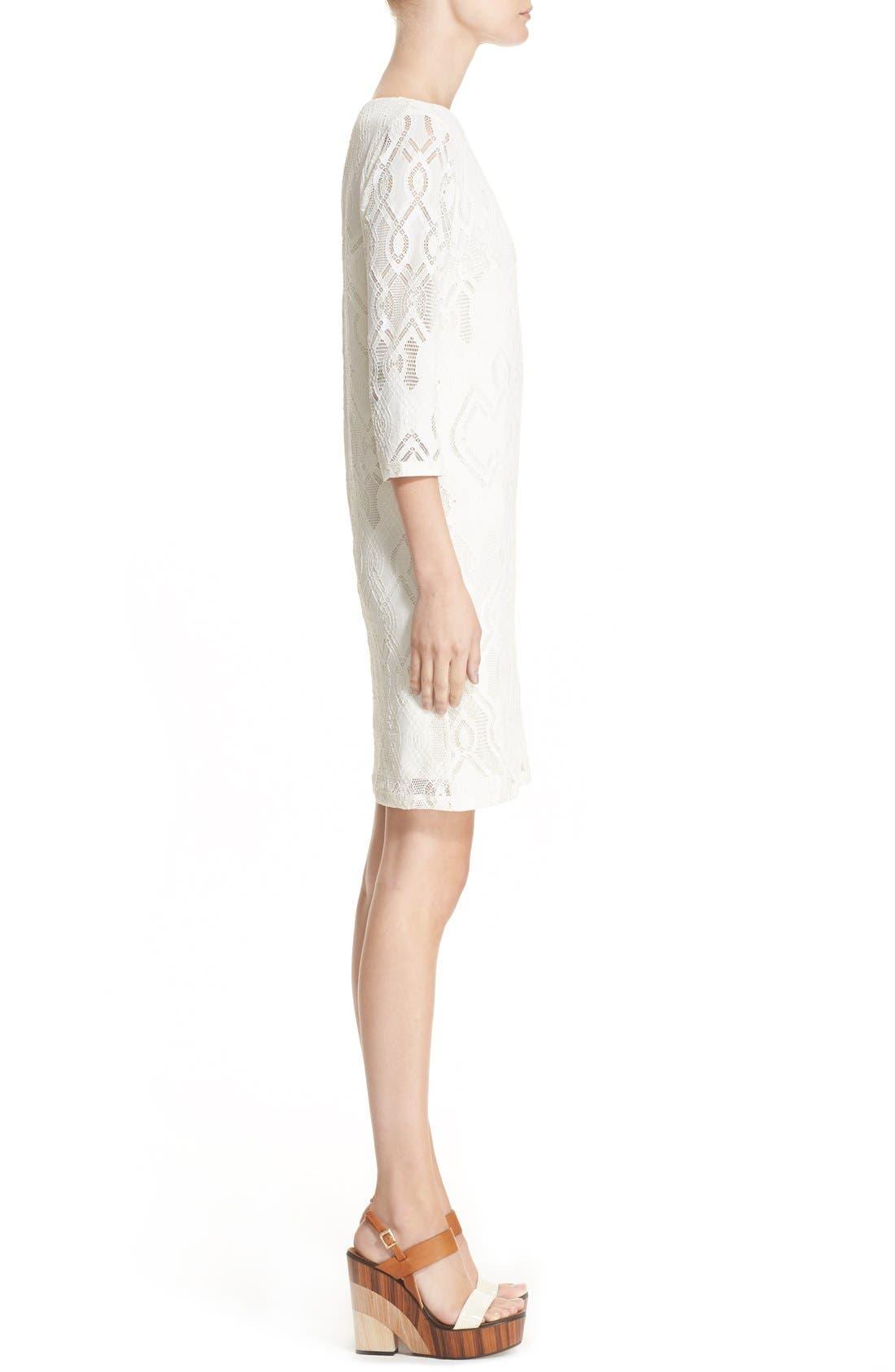 Alternate Image 5  - Fuzzi Lace Shift Dress