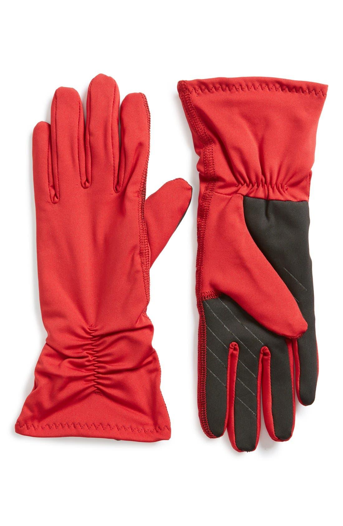Alternate Image 1 Selected - U|R Stretch Tech Gloves