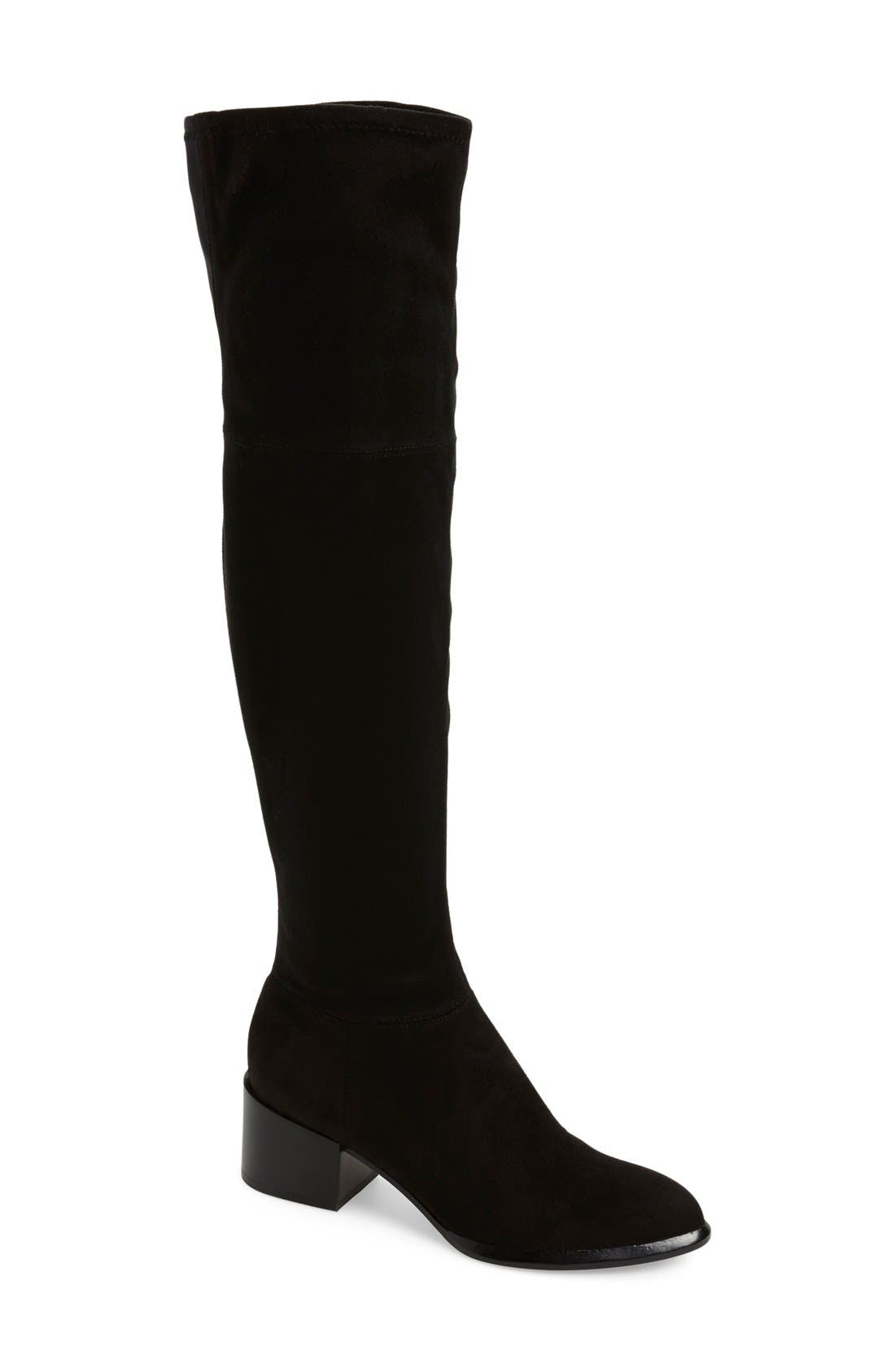 Main Image - Calvin Klein 'Nani' Over The Knee Boot (Women) (Special Purchase)