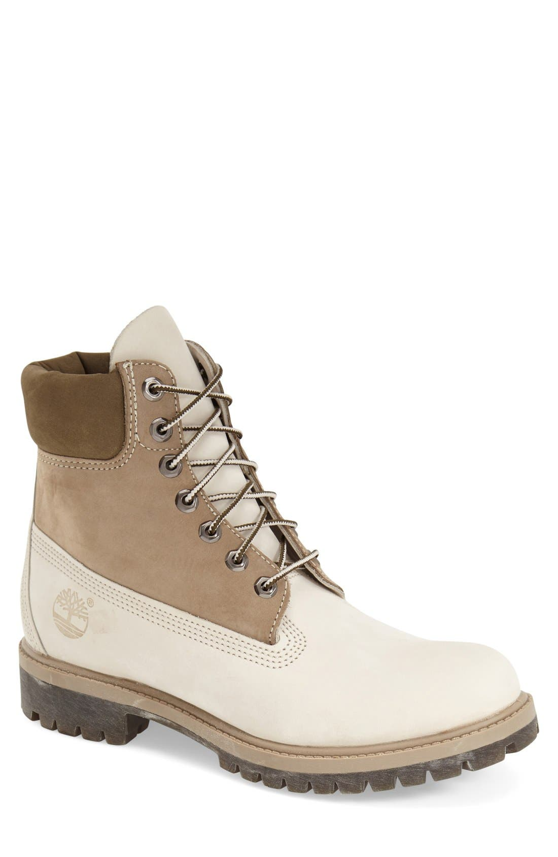 Alternate Image 1 Selected - Timberland 'Premium Tone on Tone' Waterproof Boot (Men)