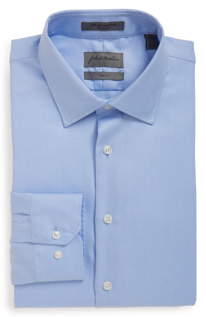 Nordstrom Men's Shop Smartcare™ Trim Fit Solid Dress Shirt ...  From Dress Shirts Nordstrom