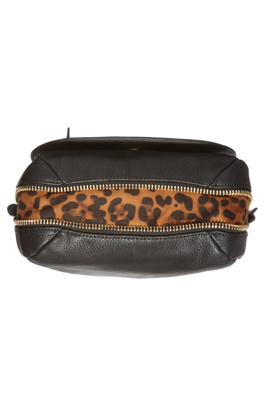 Alternate Image 6  - Big Buddha 'ZJane' Faux Leather Crossbody Flap Bag