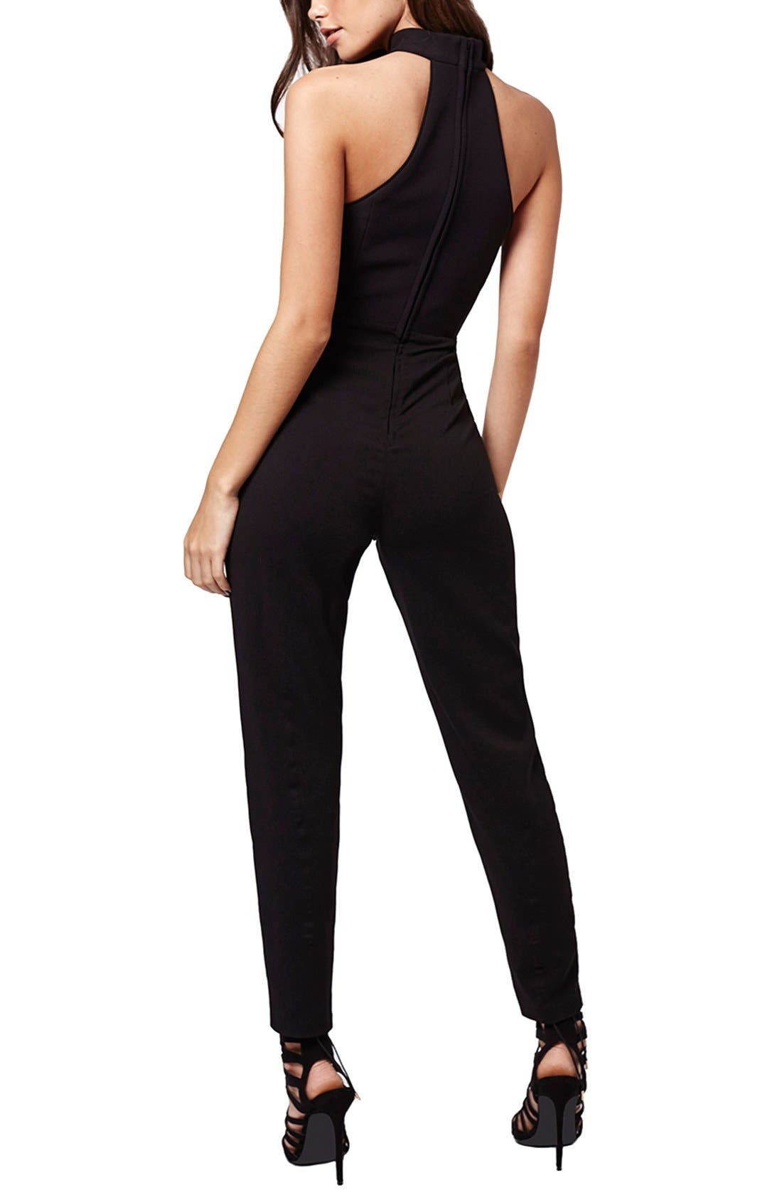 Alternate Image 3  - KENDALL + KYLIE at Topshop High Neck Jumpsuit