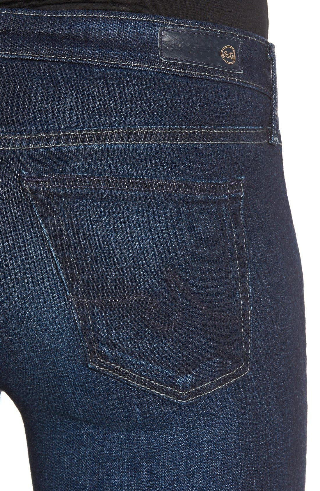Alternate Image 4  - AG Jeans Super Skinny Stretch Jeans (Stella)