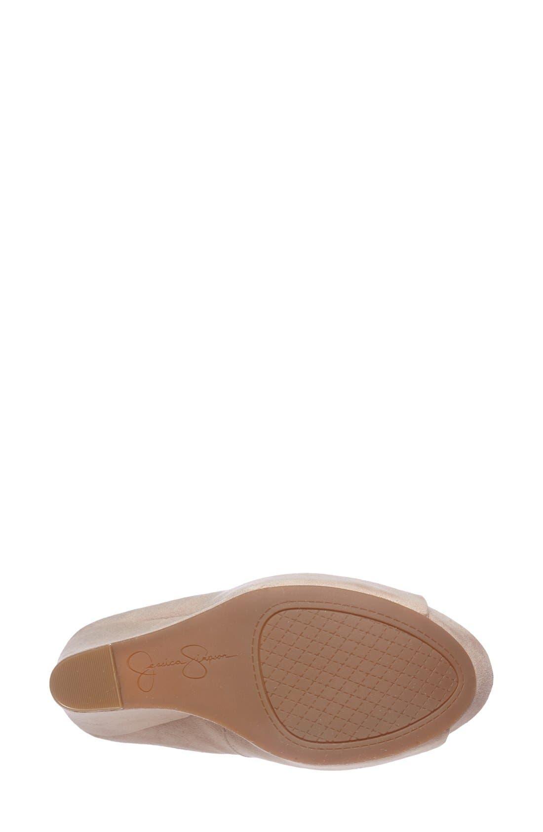 Alternate Image 4  - Jessica Simpson 'Bethani' Wedge Platform Sandal (Women)