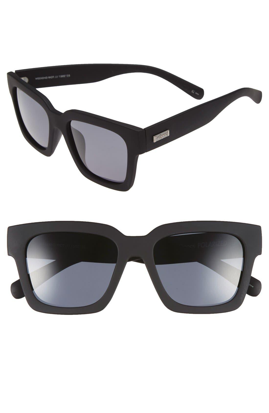 Main Image - Le Specs 'Weekend Riot' 55mm Sunglasses
