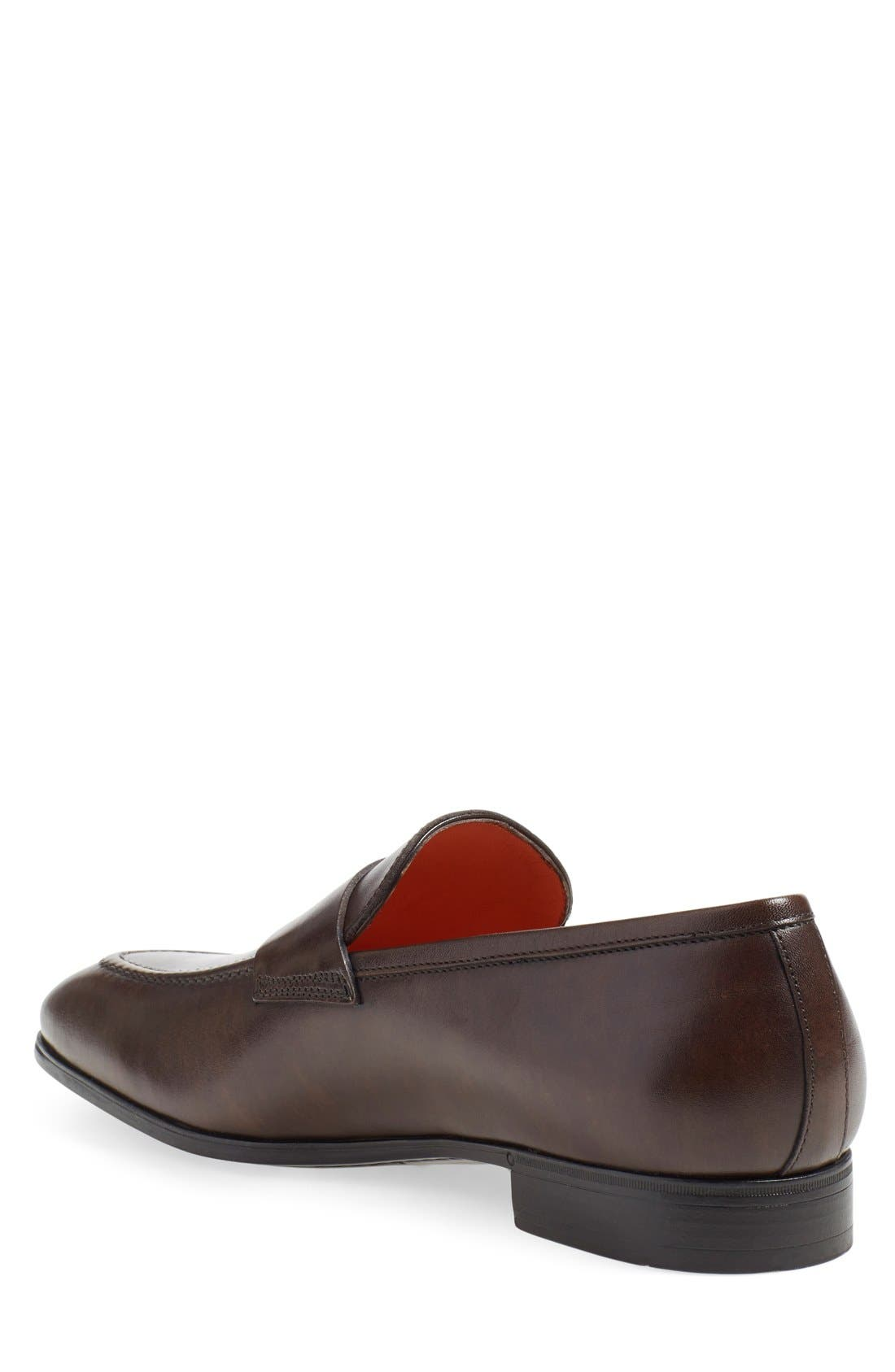Alternate Image 2  - Santoni 'Will' Penny Loafer (Men)
