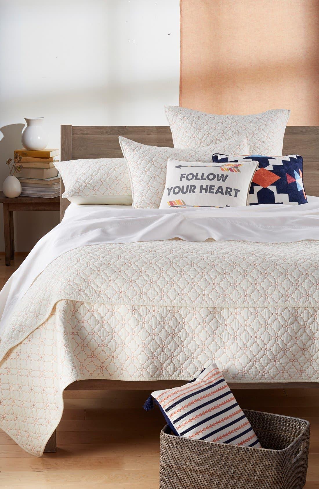 Alternate Image 3  - Levtex 'Follow Your Heart' Pillow