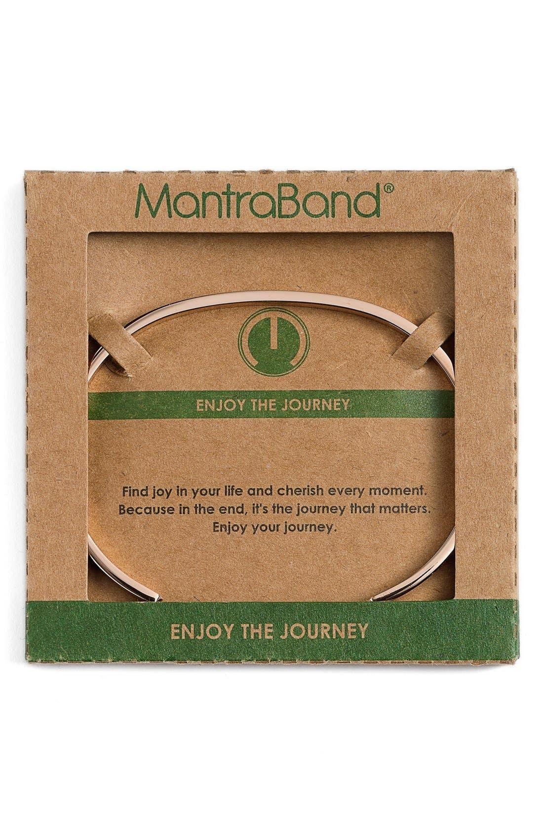 Alternate Image 2  - MantraBand® 'Enjoy the Journey' Cuff