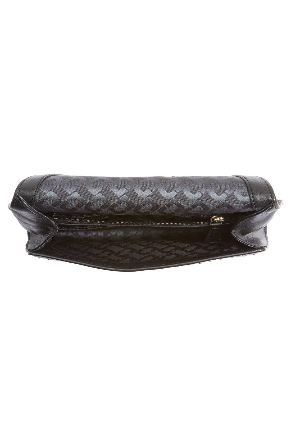 Alternate Image 4  - Diane von Furstenberg '440 Glory Uptown' Studded Leather Clutch