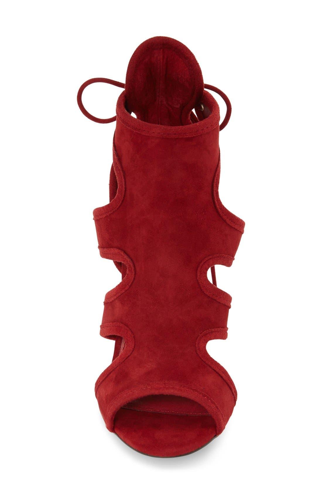 Alternate Image 4  - Topshop 'Reveal' Cutaway' Sandal (Women)