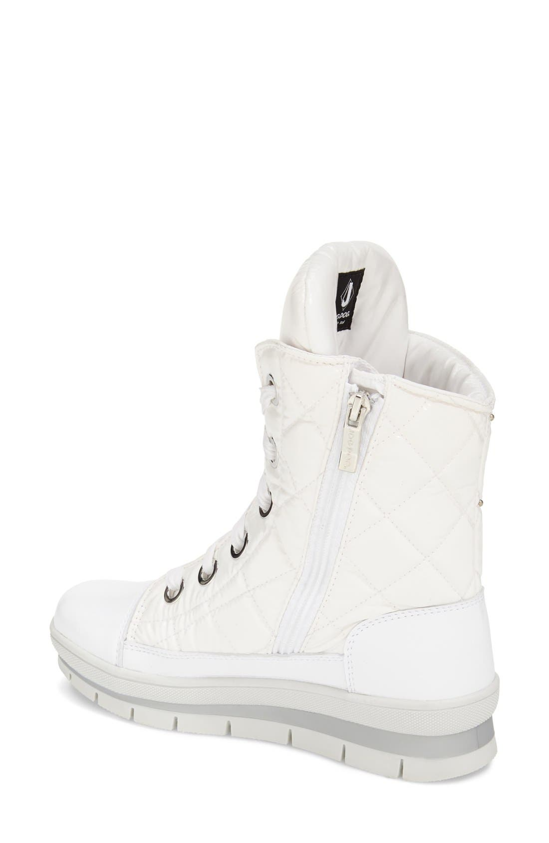 Alternate Image 4  - JOG DOG Waterproof Quilted Lace-Up Boot (Women)