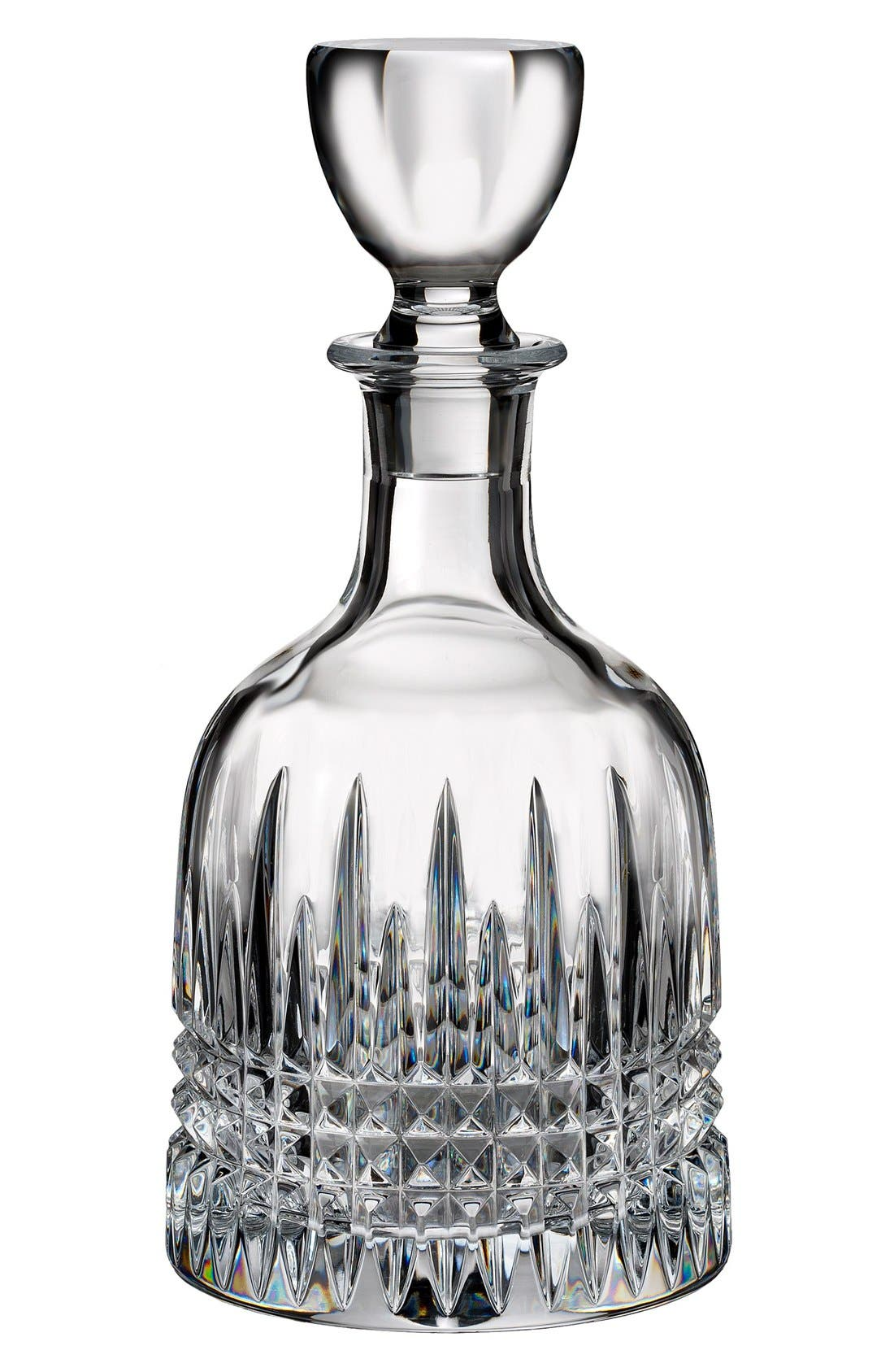 Waterford 'Lismore Diamond' Lead Crystal Decanter & Stopper
