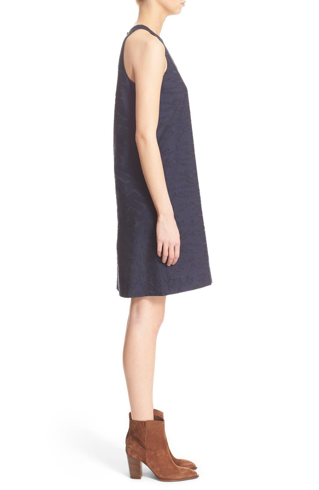 Alternate Image 3  - Vince Fil Coupé Sleeveless Shift Dress (Nordstrom Exclusive)