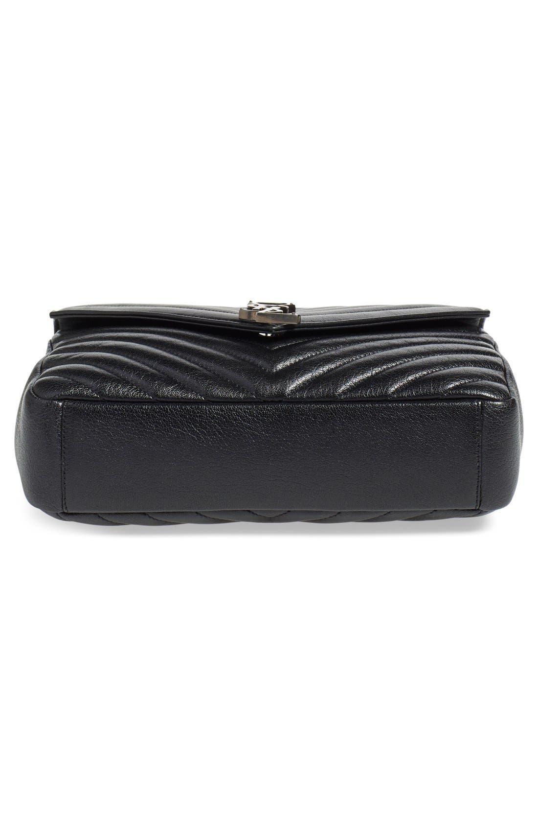 Alternate Image 6  - Saint Laurent 'Medium Monogram' Quilted Leather Shoulder Bag