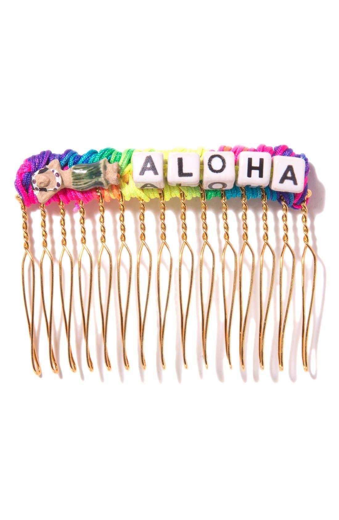 Main Image - Venessa Arizaga 'Lady Aloha' Hair Comb