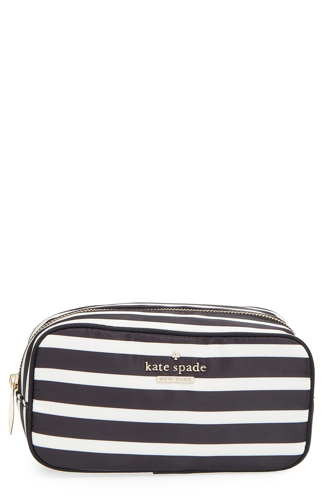 Alternate Image 1 Selected - kate spade new york 'classic - ezra' cosmetics case