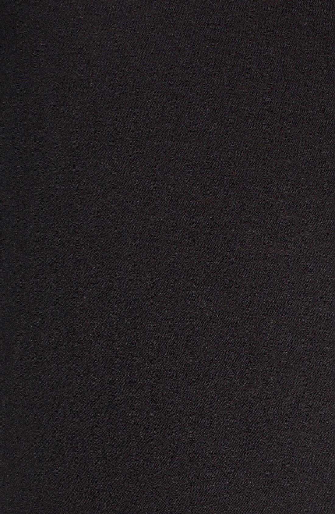 Alternate Image 5  - Michelle by Comune 'Hayward' V-Neck T-Shirt Dress