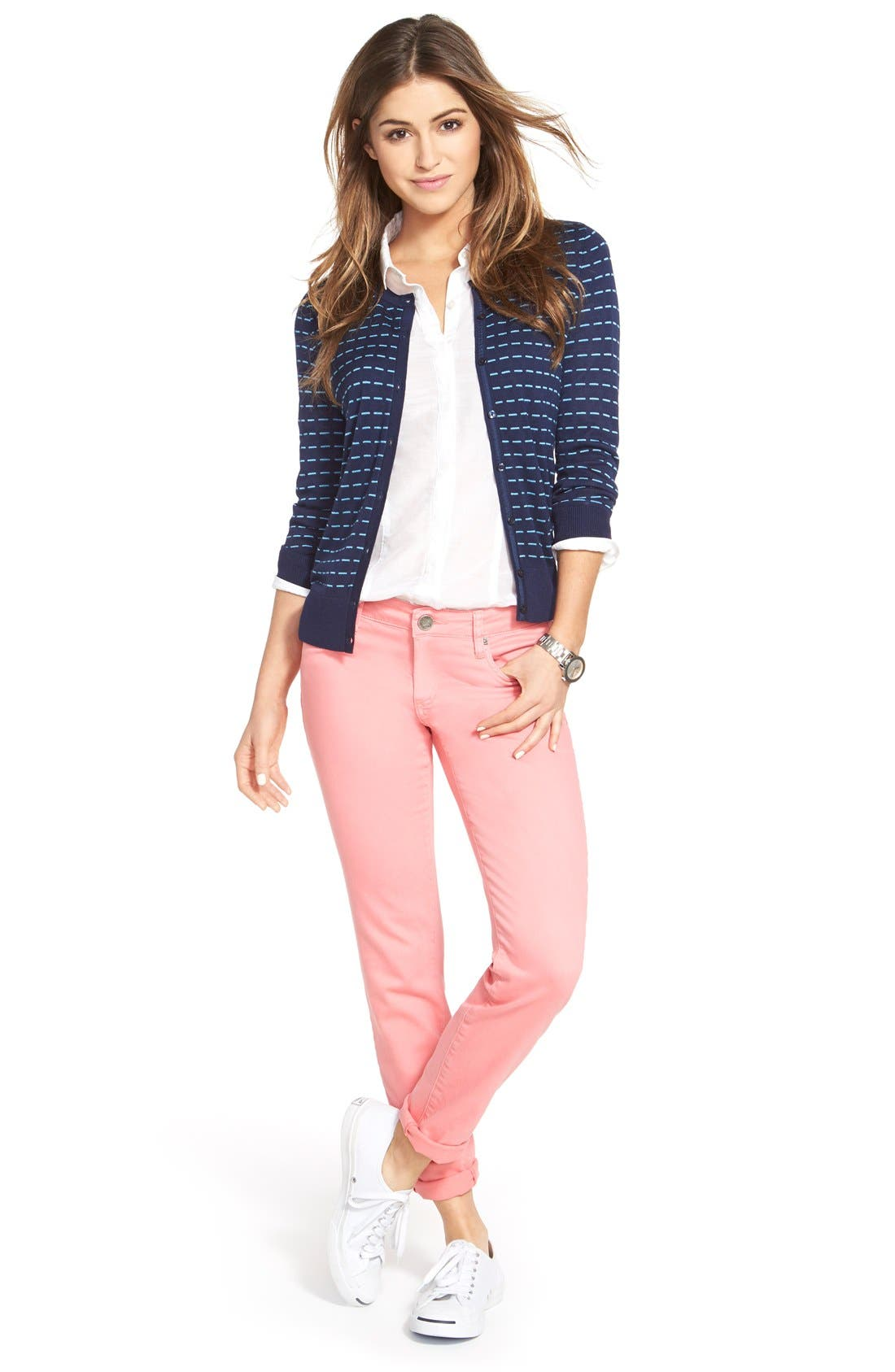 Halogen® Cardigan & KUT from the Kloth Pants