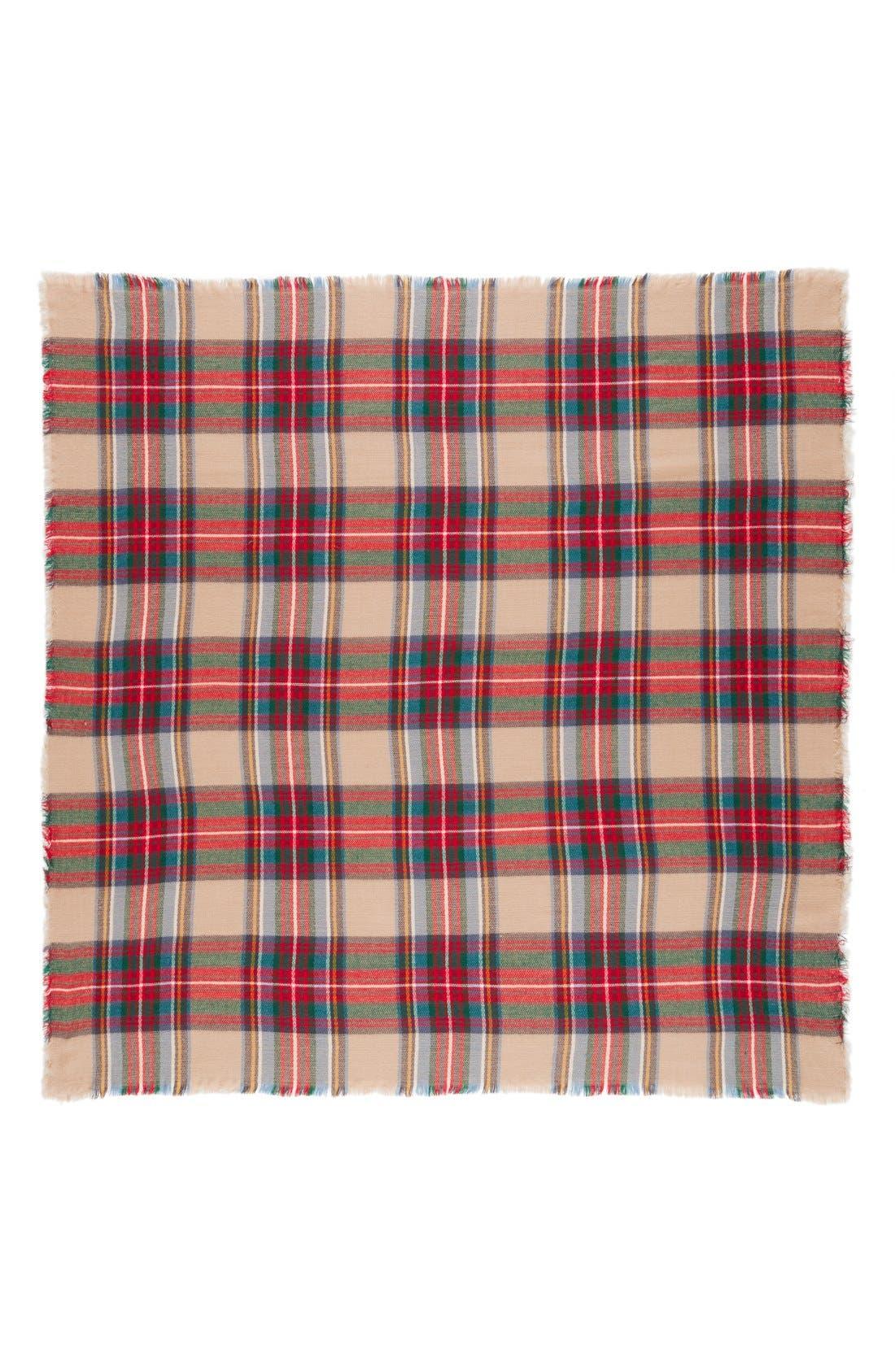 Alternate Image 2  - Evelyn K Plaid Blanket Scarf