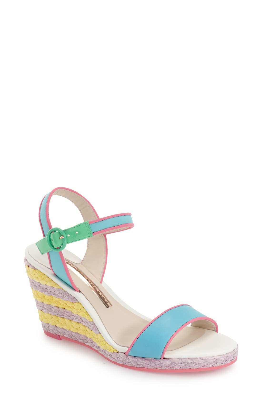 Alternate Image 1 Selected - Sophia Webster 'Lucita' Wedge Sandal (Women)