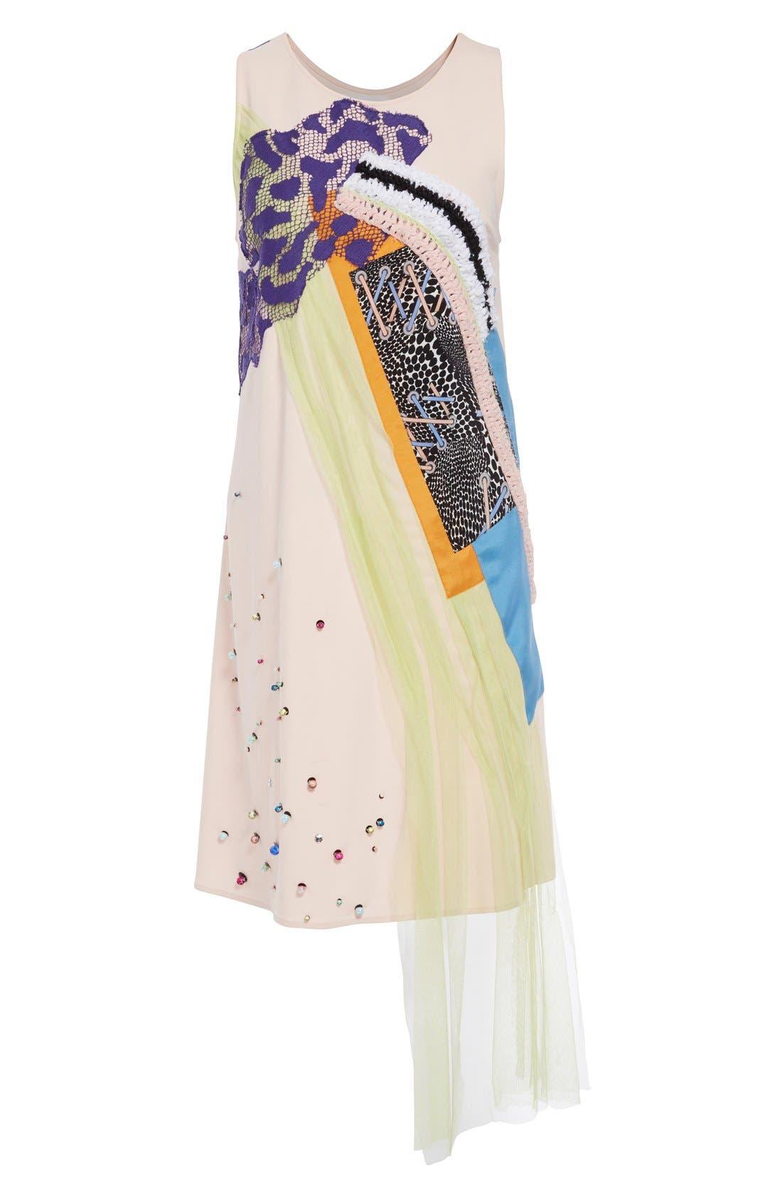 Alternate Image 4  - Koché 'Rose' Sleeveless Sheath Dress
