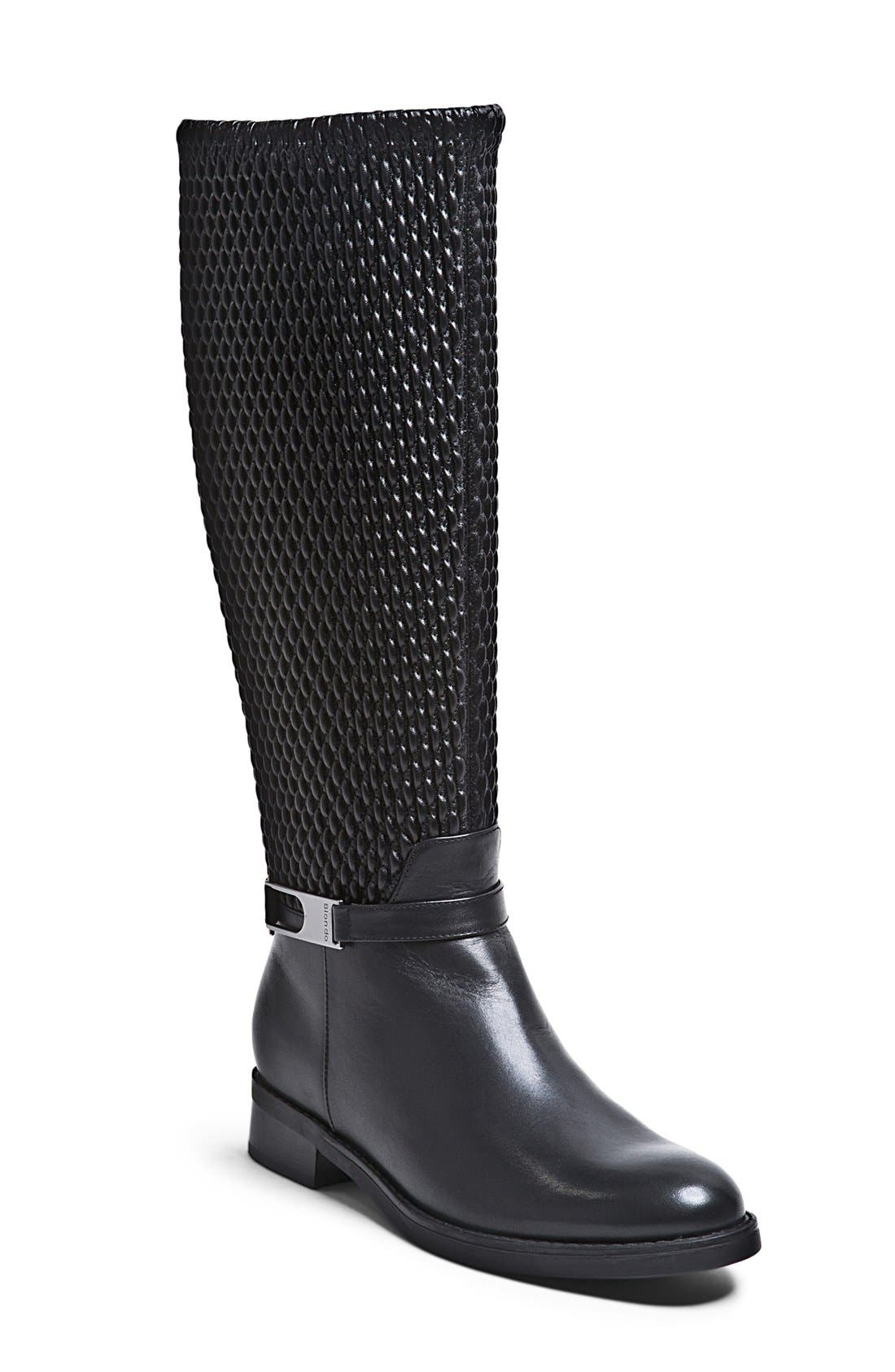 Alternate Image 1 Selected - Blondo 'Emma' Waterproof Stretch Shaft Riding Boot (Women)