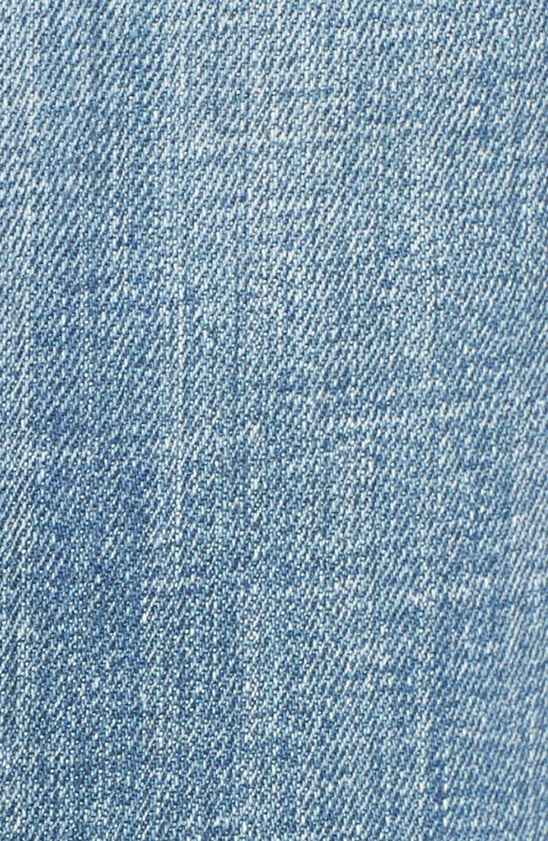 Alternate Image 5  - Vigoss 'Chelsea' Flare Jeans (Medium Wash)