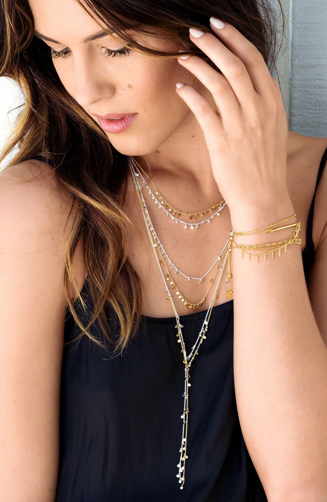 Alternate Image 4  - gorjana 'Chloe' Mini Long Necklace