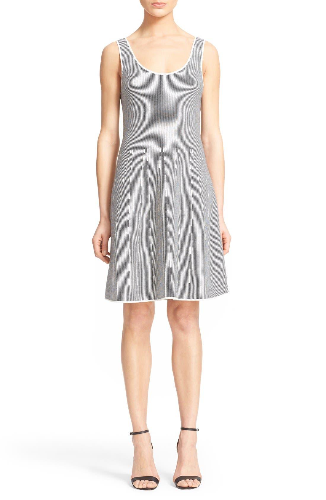 Main Image - Theory 'Codris' Knit Fit & Flare Dress