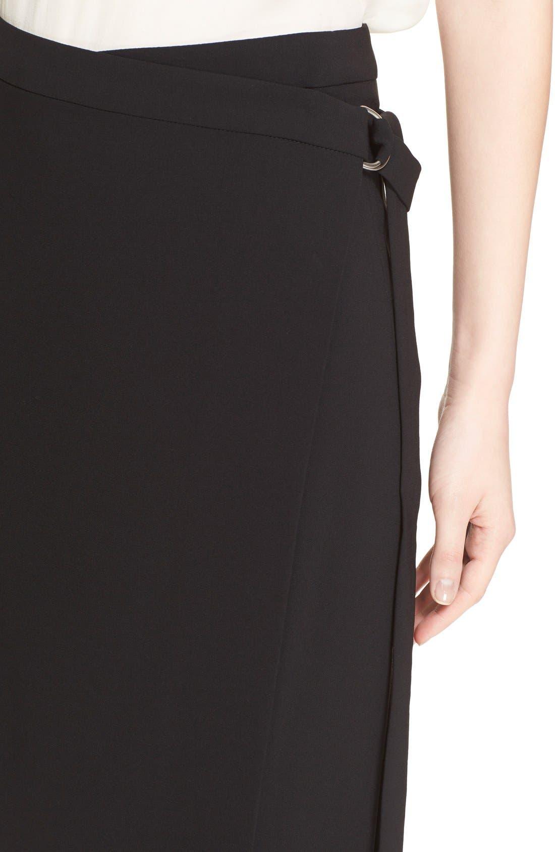 Alternate Image 6  - Michael Kors Belted Wool Wrap Skirt