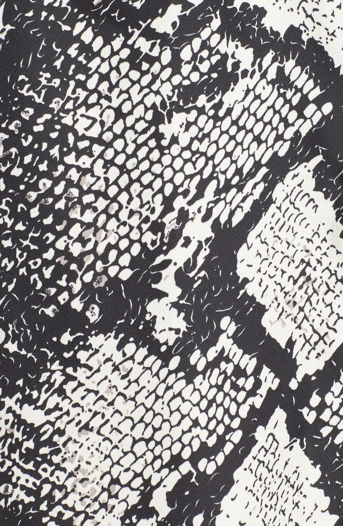 Alternate Image 5  - Missguided Snake Print Shirtdress