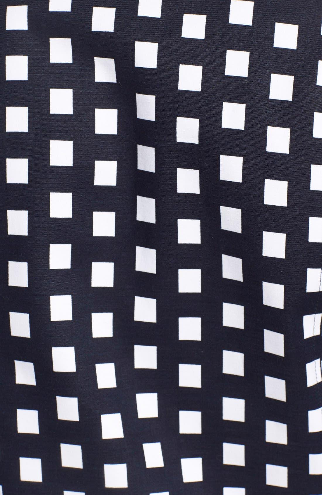 Alternate Image 5  - MICHAEL Michael Kors Check Front Zip Moto Jacket (Petite)