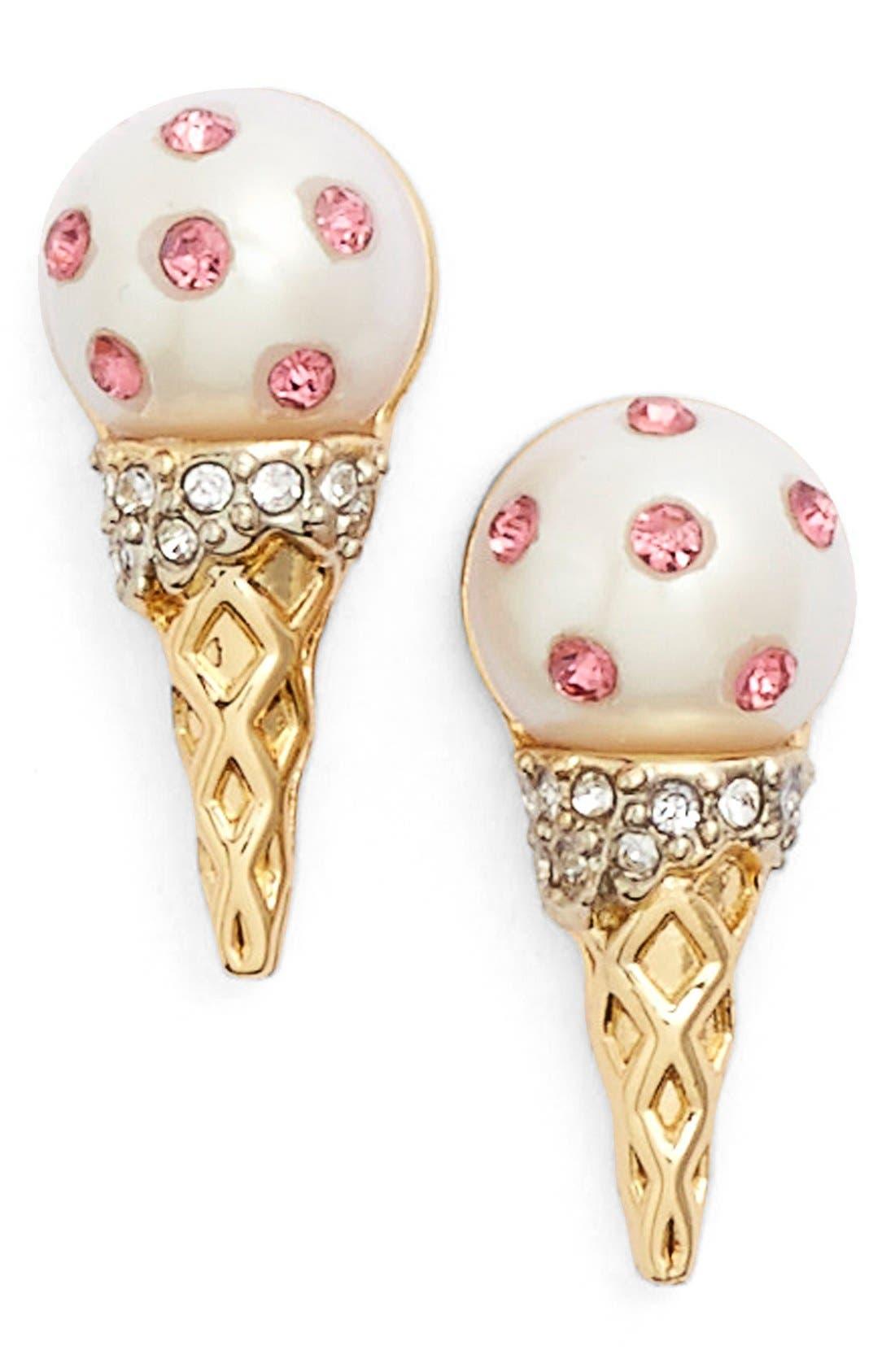 Main Image - kate spade new york 'carnival nights' ice cream stud earrings