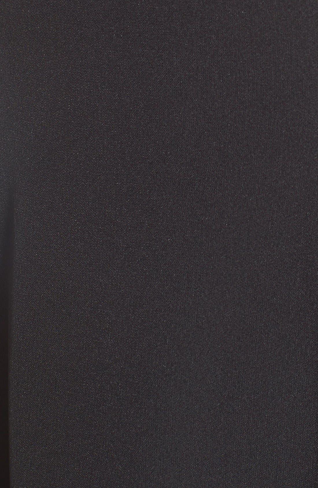 Alternate Image 6  - Eliza J Cutout Crepe Fit & Flare Dress